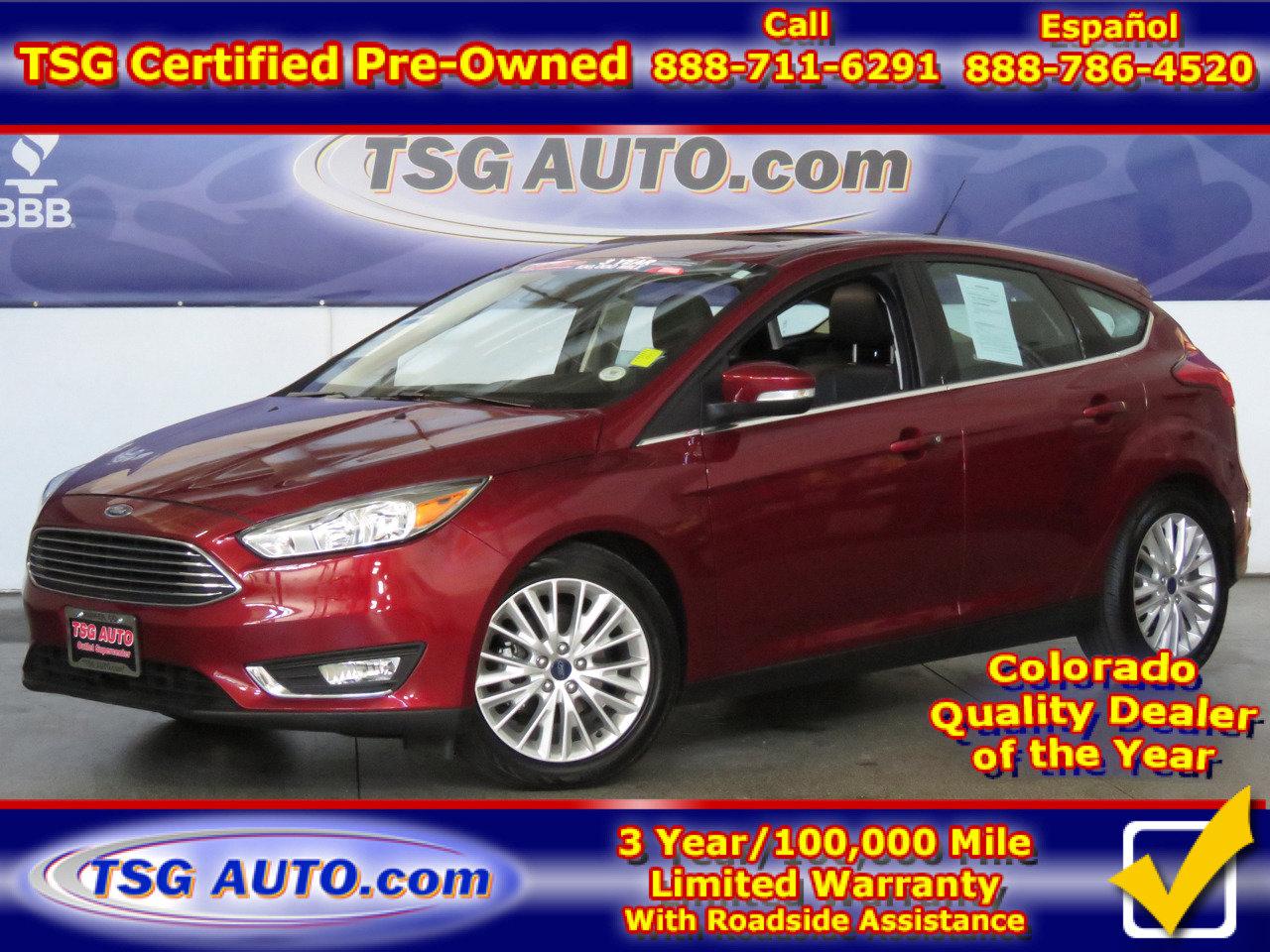 2015 Ford Focus Titanium Hatchback image
