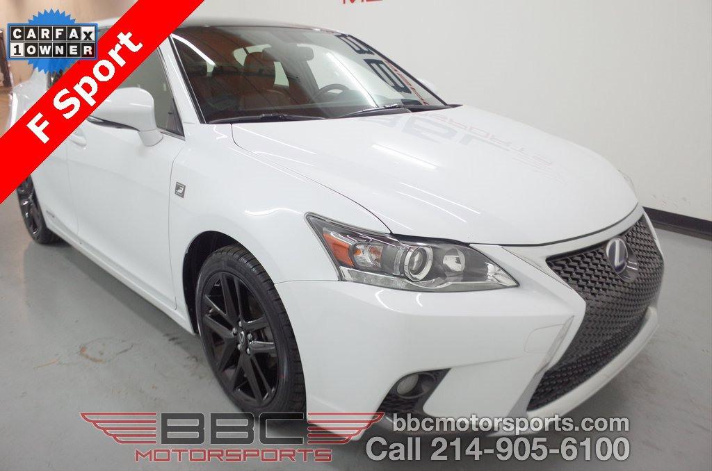 2017 Lexus CT 200h w/ F-Sport Package image
