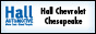 Hall Chevrolet Chesapeake in Chesapeake, VA 23321-7452