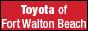 Toyota of Fort Walton Beach in FORT WALTON BEACH, FL 32547-1404