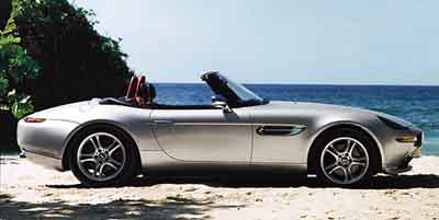 Sneak Preview: 2000 BMW Z8