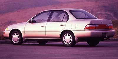 Road Test: 1997 Toyota Corolla