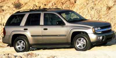 2002 Chevrolet TrailBlazer 4dr 2WD LT