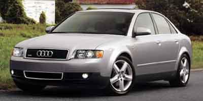 2002 Audi A4 4dr Sdn 3.0L quattro AWD Man