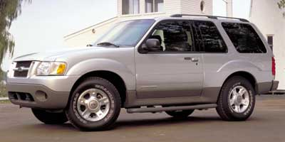 2002 Ford Explorer 2dr 102' WB 4WD Value Manual