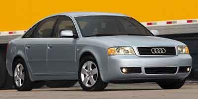2003 Audi A6 4dr Sdn 2.7T quattro AWD 6-spd Man
