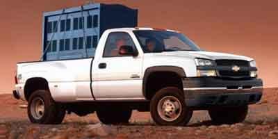 2004 Chevrolet Silverado 3500 Reg Cab 133' WB 4WD DRW Wrk Trk
