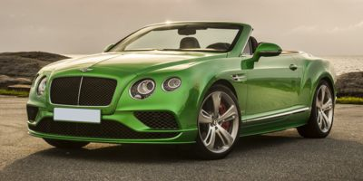 2016 Bentley Continental 2dr Conv Speed