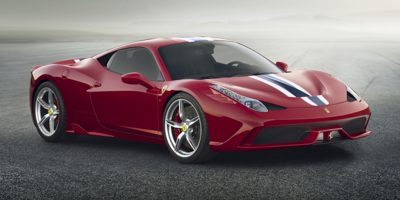 2014 Ferrari 458 Italia 2dr Cpe Speciale