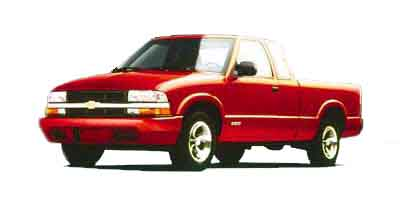 2000 Chevrolet S10 Pickup Ext Cab 123' WB LS