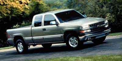 2000 Chevrolet Silverado 1500 4dr Ext Cab 157.5' WB 4WD LT