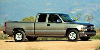 2000 Chevrolet Silverado 1500 4dr Ext Cab 157.5' WB LT