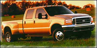 2004 Ford F350 Crew Cab 172' King Ranch