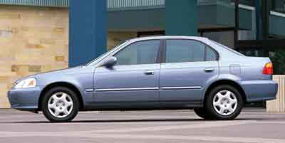 2000 Honda Civic 4dr Sdn VP Auto
