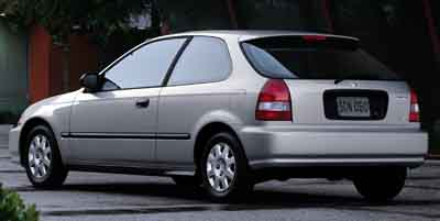2000 Honda Civic 3dr HB CX Manual