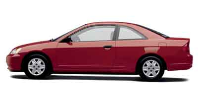 2003 Honda Civic 2dr Cpe DX Manual w/Side Airbags