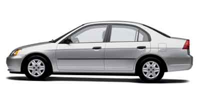 2003 Honda Civic 4dr Sdn DX Manual