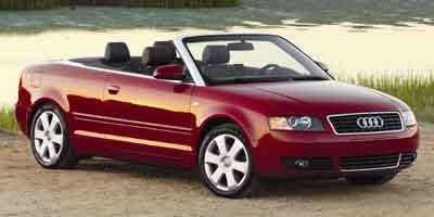 2004 Audi A4 2004 2dr Cabriolet 1.8T CVT