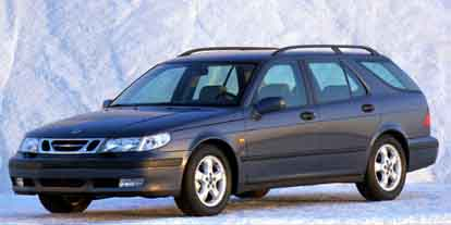 2000 Saab 9-5 Gary Fisher Edition