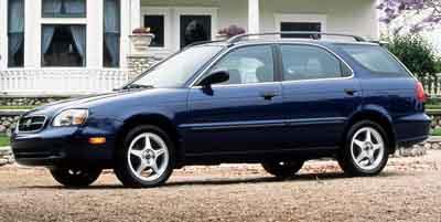 2000 Suzuki Esteem GLX