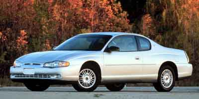 2001 Chevrolet Monte Carlo 2dr Cpe LS