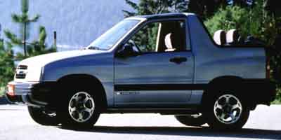 2001 Chevrolet Tracker 2dr Convertible 4WD ZR2
