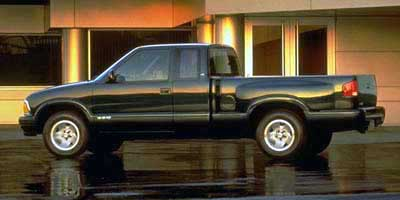 1997 Chevrolet S10 Pickup Ext Cab Sportside 122.9' WB 4WD LS