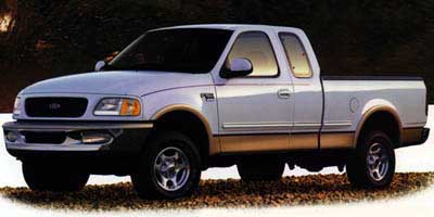 1997 Ford F250 Supercab 139' 4WD XL