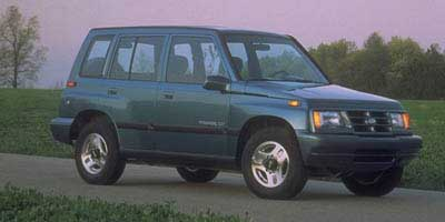 1997 Geo Tracker 4dr Hardtop LSi 2WD