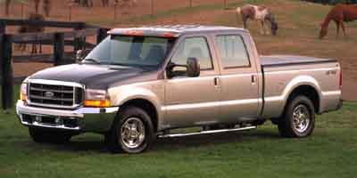2002 Ford F250 Crew Cab 156' XL
