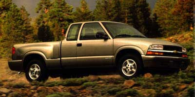 1998 Chevrolet S10 Pickup Ext Cab Sportside 123' WB 4WD LS
