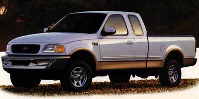 1998 Ford F150 Supercab 139' 4WD Lariat