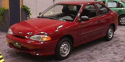 1998 Hyundai Accent GS