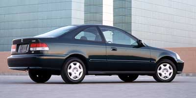 1999 Honda Civic 2dr Cpe HX Manual