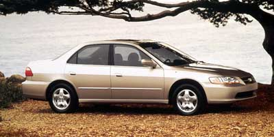 1999 Honda Accord 4dr Sdn EX Manual w/Leather