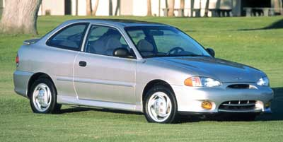 1999 Hyundai Accent GS