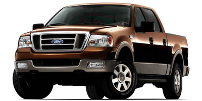 2005 Ford F150 SuperCrew 139' Lariat 4WD