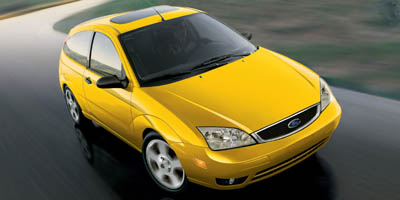 2006 Ford Focus 3dr Cpe ZX3 S