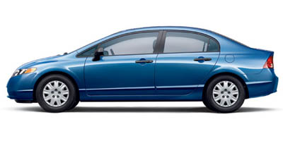 2007 Honda Civic 4dr MT DX