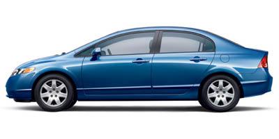 2007 Honda Civic 4dr AT LX