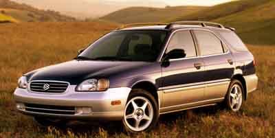 2001 Suzuki Esteem GLX