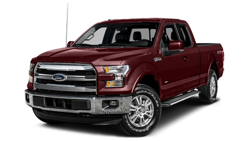 2015 Ford F150 4WD SuperCab 145' Lariat