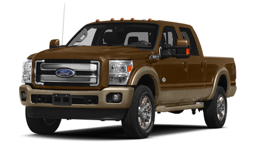 2015 Ford F250 2WD Crew Cab 156' King Ranch