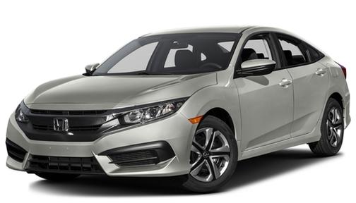 2016 Honda Civic 4dr CVT LX w/Honda Sensing