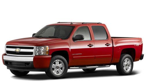 2008 Chevrolet Silverado 1500 2WD Crew Cab 143.5' LT w/2LT