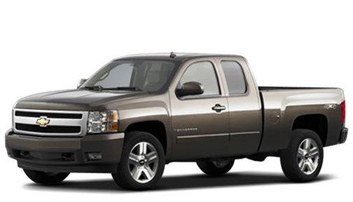 2008 Chevrolet Silverado 3500 4WD Ext Cab 157.5' SRW LT w/2LT