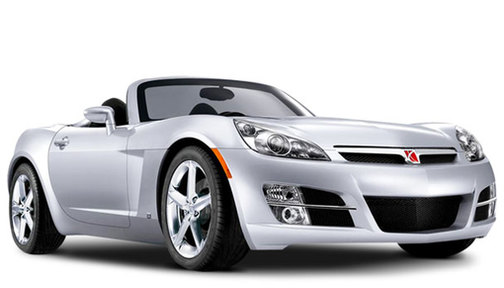2008 Saturn Sky Red Line Carbon Flash