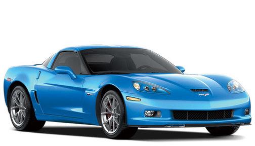 2009 Chevrolet Corvette 2dr Cpe Z06 w/1LZ
