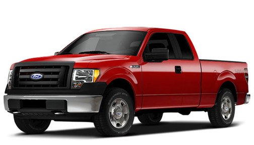 2009 Ford F150 2WD SuperCab Flareside 145' STX