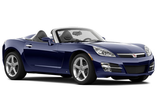 2009 Saturn Sky Ruby Red